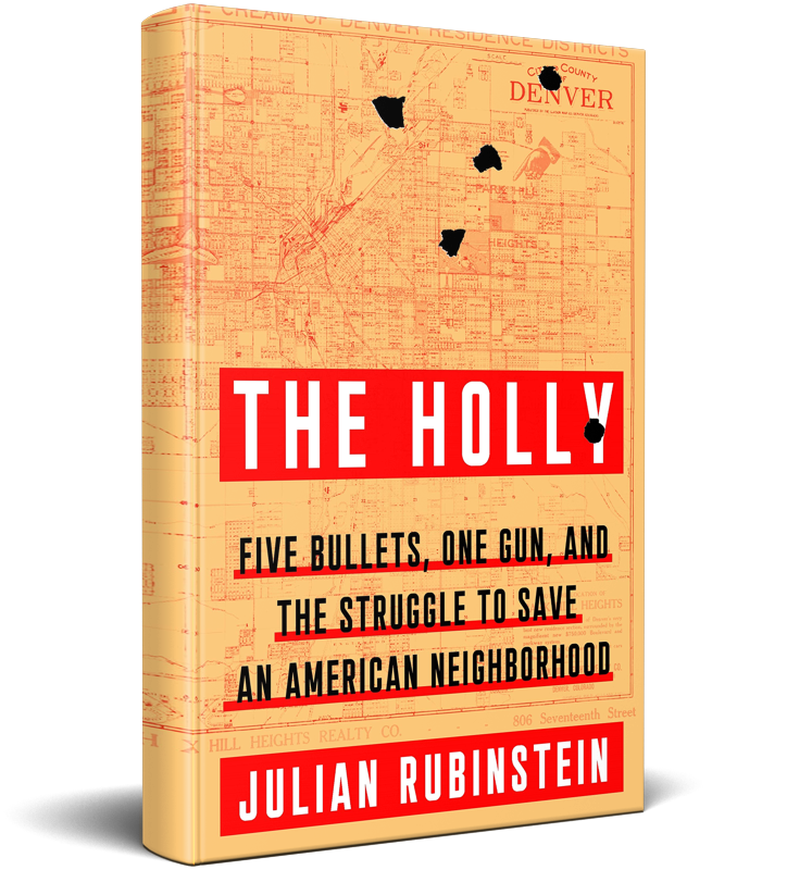 The Holly by Julian Rubinstein Book Cover