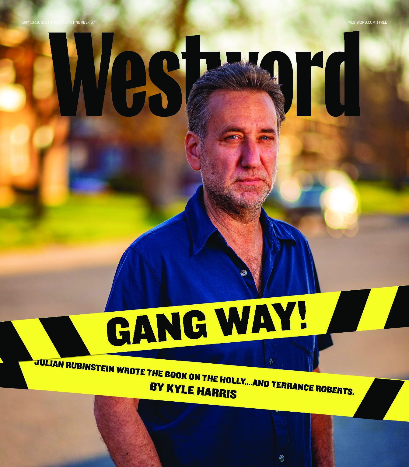 The Holly on the cover of Westword